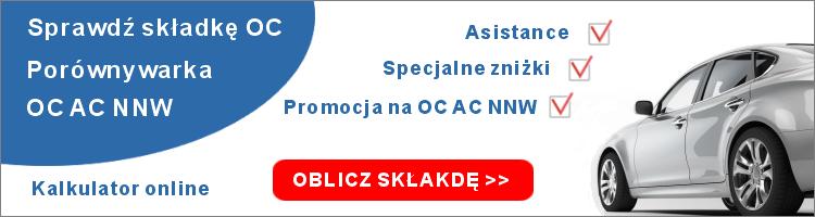 Porównywarka OC Online